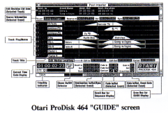 otari-prodisk-464-guide-screen