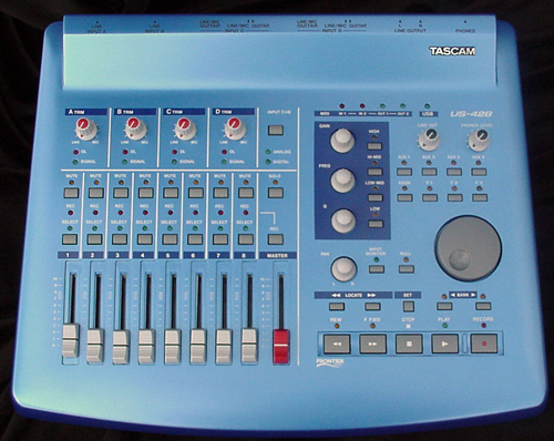 Tascam-US-428 top1