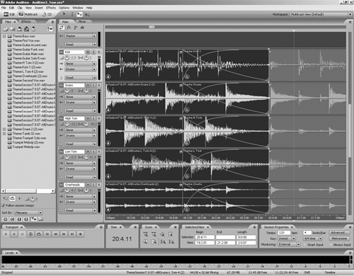 audition3 multitrack
