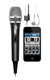 iRigMic front VocaLive iPhone