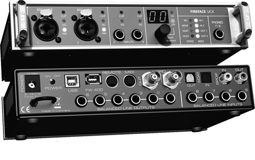 RME fireface ucx 1b