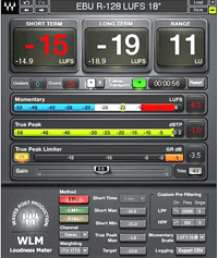 Waves Loudness Meter Plus WLMPlus web