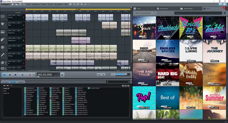 MAGIX Announces New Free Version of Music Maker