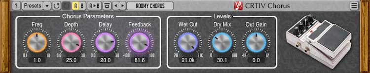 Voxengo CRTIV Chorus Effect Plugin Released