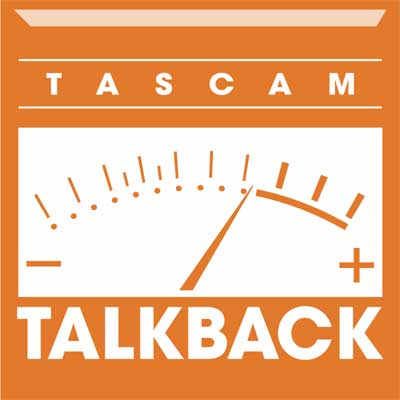 TASCAM Announces the Launch of TASCAM Talkback