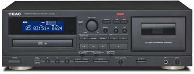 TEAC Introduces the AD-850 Cassette/CD Multi-function Player