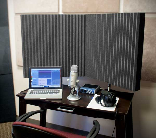 Auralex Acoustics now shipping DeskMAX Stand-Mounted Acoustical Panels