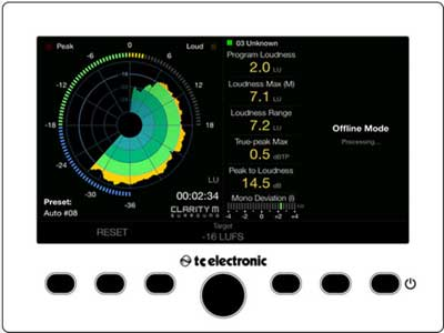 TC Electronic Updates Clarity M Desktop Audio Meter