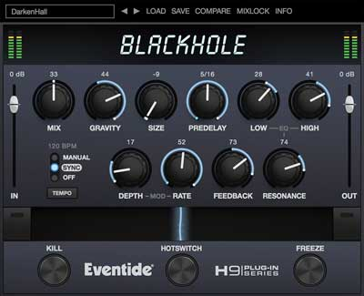Eventide announces availability of Blackhole for Native Instruments NKS