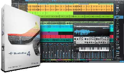 PreSonus Studio One 4 Professional 400