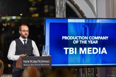 TBI Media Production Company of the Year