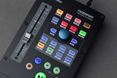 PreSonus' Next-Generation FaderPort Offers Advanced, Innovative DAW Control