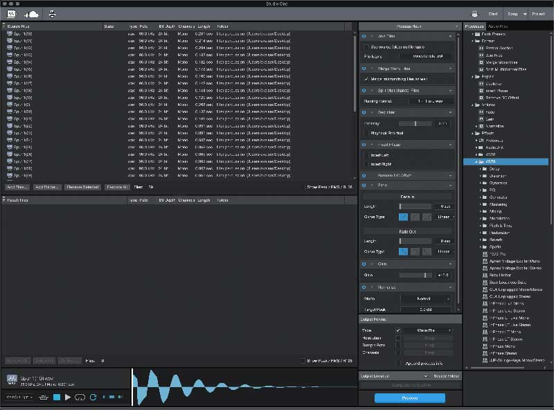 PreSonus Ships Audio Batch Converter Add-on for Studio One