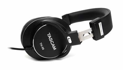 New TASCAM TH-06 Bass XL Monitoring Headphones Deliver Exceptional Bass