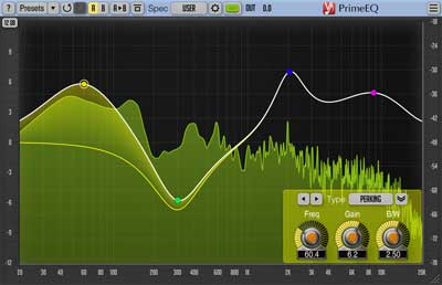 Voxengo PrimeEQ 1.2 parametric equalizer plugin released