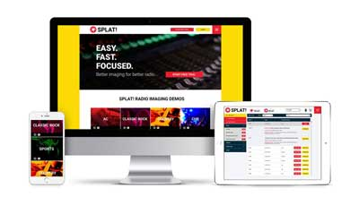 SPLAT! Radio Imaging launches new redesigned website