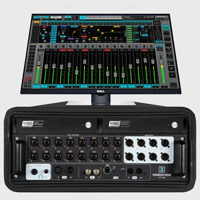 Waves Introduces the eMotion LV1 Proton 16-Channel Live Mixing System