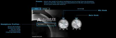 Reveal+ personalized spatial plugin for Audeze headphones