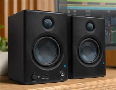 PreSonus Eris BT-series Bluetooth Speakers Deliver Studio Sound for Home Environments