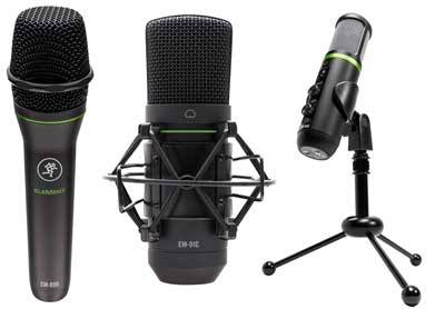 Mackie Introduces EleMent Series Microphones