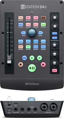 PreSonus ioStation 24c Combines Audio Recording and Production Control