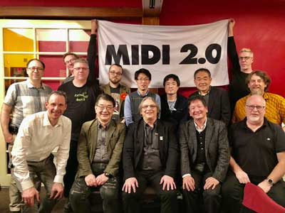MIDI 2.0 Debuts at Winter NAMM 2020