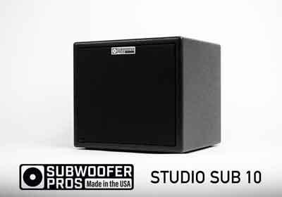 Subwoofer Pros Release Ultra Compact Studio Sub 10