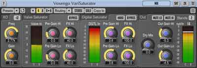 Voxengo VariSaturator 2.0 saturation plugin released