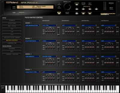 SRX PIANO I and SRX PIANO II Now Available in Roland Cloud