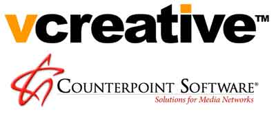 Counterpoint Software and vCreative Join Forces