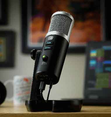 "PreSonus Revelator USB Mic Makes It Easy to Get That ""Radio Sound"""
