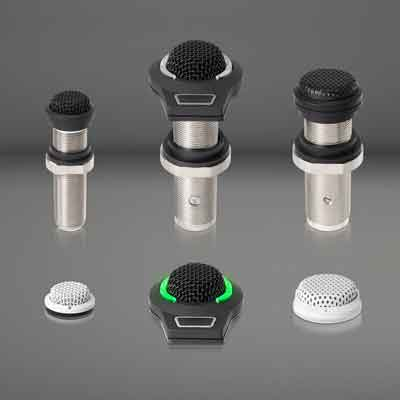 Audio-Technica Unveils Its Next Generation ES945 and ES947 Boundary Microphone Variations